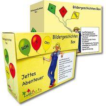 Bildergeschichtenboxen Jettes Abenteuer *Sale*