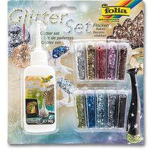Glitter-Set Flocken *Sale*
