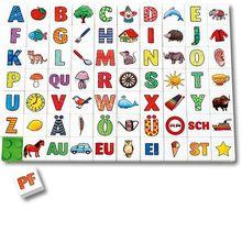 Memolino Buchstaben