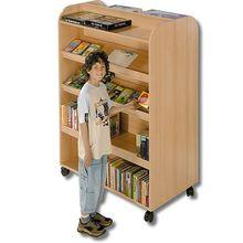 Mobiles Bücherregal