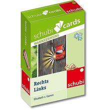 Schubicards Rechts - Links