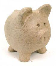 Sparschwein aus Karton