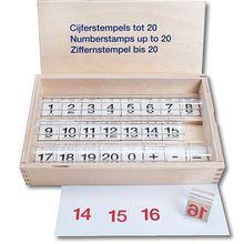Ziffernstempel bis 20