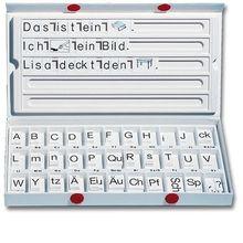 ABC-Box komplett mit Buchstaben