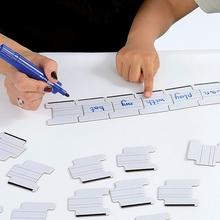Abwischbare Puzzleteile mit Schreiblinien *Sale*