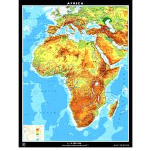 Afrika physisch/politisch, L
