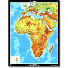 Afrika physisch/politisch, XL