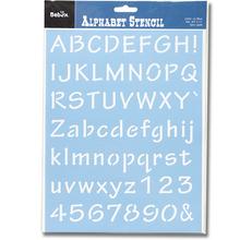 Alphabet Schablonen