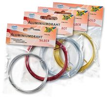 Aluminiumdraht farbig