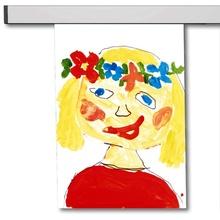 Bildaufhängung, Galerieschienen