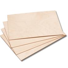 Birkensperrholzplatten A4, 10 Stk.