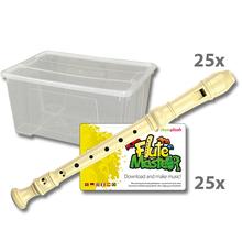 Blockflötenkiste Flute Master 2 + App