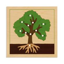 Botanische Puzzle: Baum