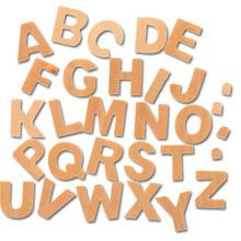 Buchstaben & Zahlen aus Holz