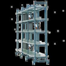 Bücherregal doppelseitig (Erweiterungselement) B/H/T:  98x200x50 cm