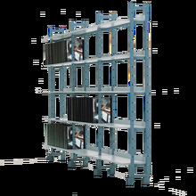 Bücherregal einseitig (Grundelement) B/H/T: 101x200x32 cm