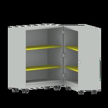 Bücherwagen mit 4 Einlegeböden, zusammenklappbar, fahrbar B/H/T: 80x92,5x64 cm