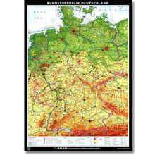 Bundesrepublik Deutschland politisch/stumm, L