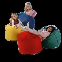 Chillout- Bag, M, Rot Höhe 41cm, Durchmesser 58 cm, 100L