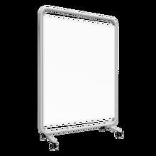 Coronaschutzwand, Trennwand mit Klettenüberzug, Serie DMT F B/H/T: 150x120x50 cm