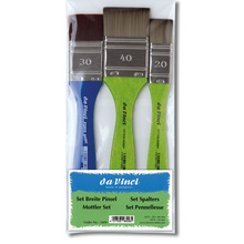 da Vinci Breite Pinsel-Set