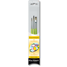 da Vinci FIT SYNTHETICS Allround-Pinsel-Set