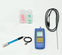 Digitales pH- und Temperaturmessgerät