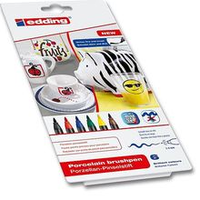 edding 4200 Porzellan-Pinselstift-Sets