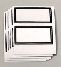 Etiketten, blanko, 10 Stück