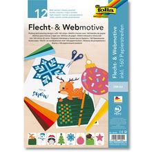 Flecht- und Webmotive X-Mas