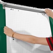 Flip-Chart-Klemme Breite: 68 cm, magnetisch