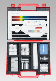 Gerätesatz Flammenfärbung/Spektralfarben
