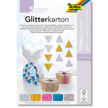 Glitterkarton-Block