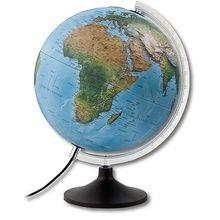 Globus mit Oberflächenrelief