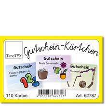 Gutschein-Kärtchen