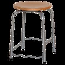 Hocker mit Fußrasten Sitzhöhe: 51 cm