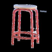 Hocker mit Fußrasten Sitzhöhe: 60 cm