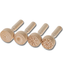 Holzstempel 4er-Set