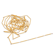Hunderter-/Tausenderkette – lose Perlen, Kunststoff