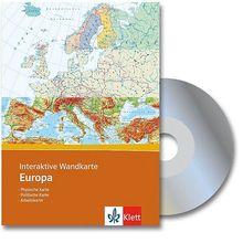 Interaktive Wandkarte Europa