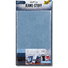 Jeansstoff selbstklebend