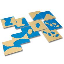 Karten Land – Wasser