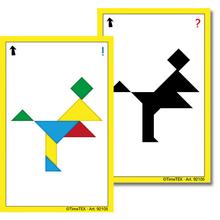 Kartenspiel Tangram