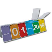Klappen-Flipchart Kalender