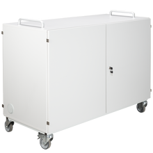 Laptopwagen mit 16 Einlegeböden, fahrbar B/H/T: 135x99x60 cm
