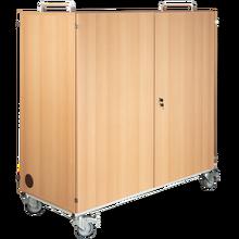 Laptopwagen mit 24 Einlegeböden, fahrbar B/H/T: 135x137,5x60 cm