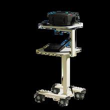 LCD-Projektorwagen höhenverstellbar mit Elektroanschluss B/H/T: 48x104-141x47 cm
