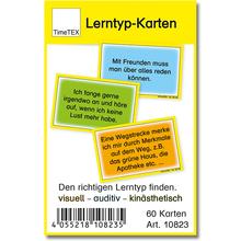 Lerntyp-Karten, 60 Stück