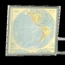 Lichtbildwand Maße 150x150 cm