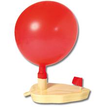 Luftballon-Knatterboot